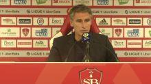 Foot - L1 - Brest : Dall'Oglio : «J'ai vu une équipe qui court»