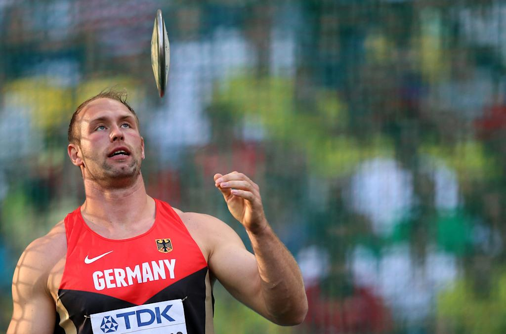 Germany's Robert Harting is the reigning Olympic and three-time world champion, having won discus gold at Berlin in 2009, Daegu in 2011 and Moscow in 2013