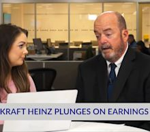 Kraft Heinz Plunges On Earnings