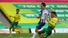 Farke concedes Norwich face drop as Trossard lifts Brighton