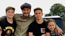 Harper's Poem For David Beckham And Other Heartwarming Celeb Father's Day Messages