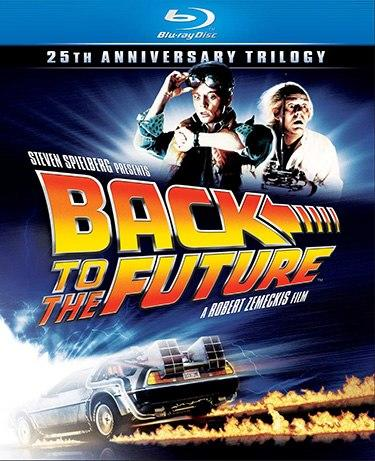 Back to the Future's 25th Anniversary celebrated by a Blu-ray box set October 26