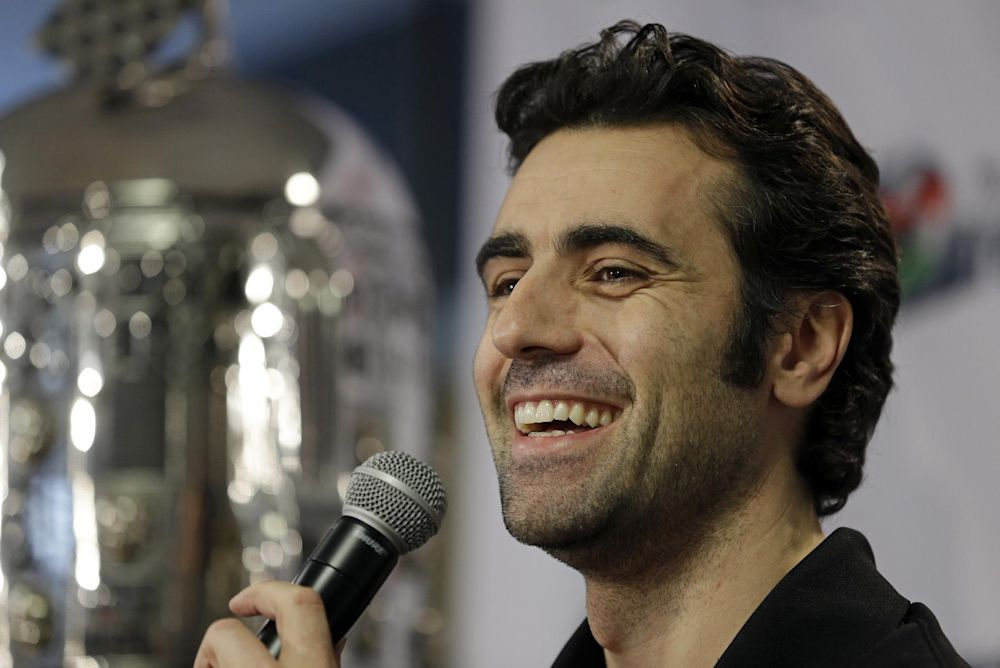 Franchitti to drive pace car for Indianapolis 500