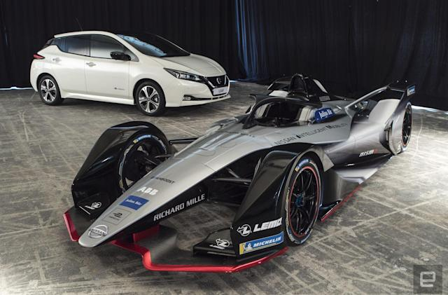 Nissan's debut Formula E design is inspired by the Doppler effect
