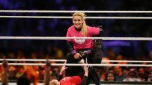 Take WWE's all-female Saudi match 'with heavy pinch of salt'