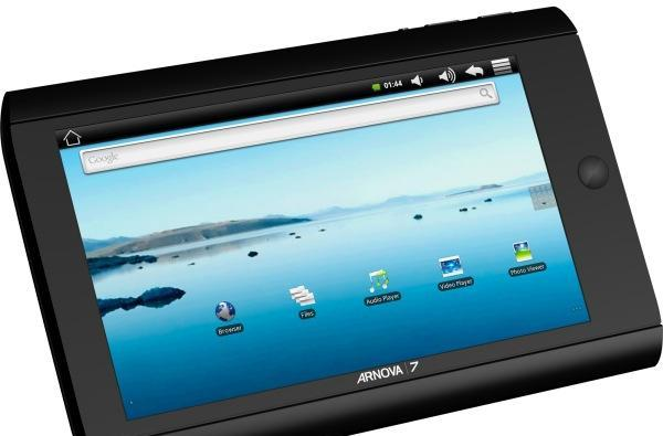 Archos unveils bare-bones Arnova 7 Android tablet, priced at $99