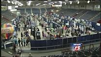 Business to business trade show held in Lewiston