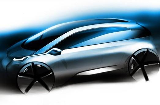 BMW Megacity EV gets sketched out in more detail