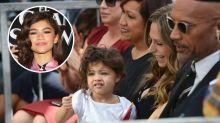 The internet thinks Dwayne Johnson's daughter looks just like Zendaya