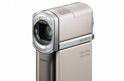 Sony HDR-TG5 makes world's smallest Full HD camcorder smaller, adds GPS