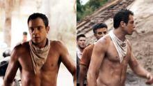 Sergio Guizé aparece sem camisa em 'O Outro Lado do Paraíso' e causa alvoroço na web