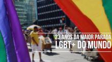 Os 23 anos de lutas e conquistas da maior Parada LGBT+ do mundo