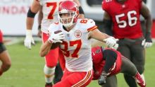 Travis Kelce hopes for another chance to throw a pass