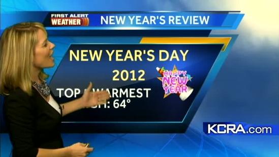 Eileen's Monday Forecast 12.31.12