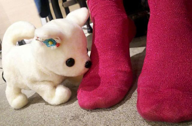 Japan's latest robot is a puppy that sniffs out stinky feet