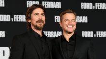 Christian Bale vs. Matt Damon on their epic 'Ford v Ferrari' fight — and whether Bourne could beat Batman