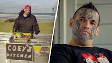 How gang member with swastika face tattoos is turning his life around
