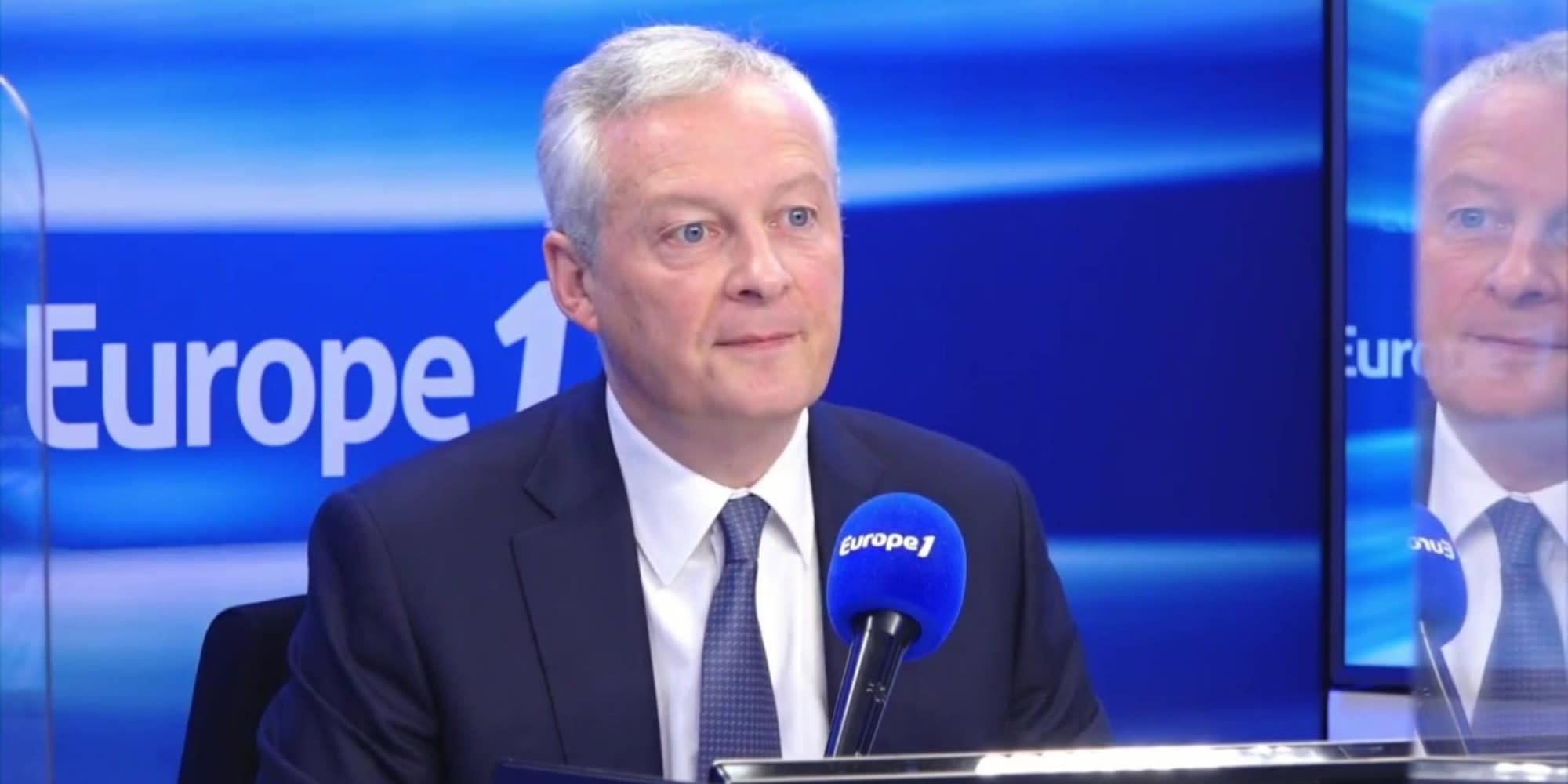 """Bruno Le Maire : """"Le camp d'Eric Zemmour et Marine Le Pen est celui du déclin"""""""