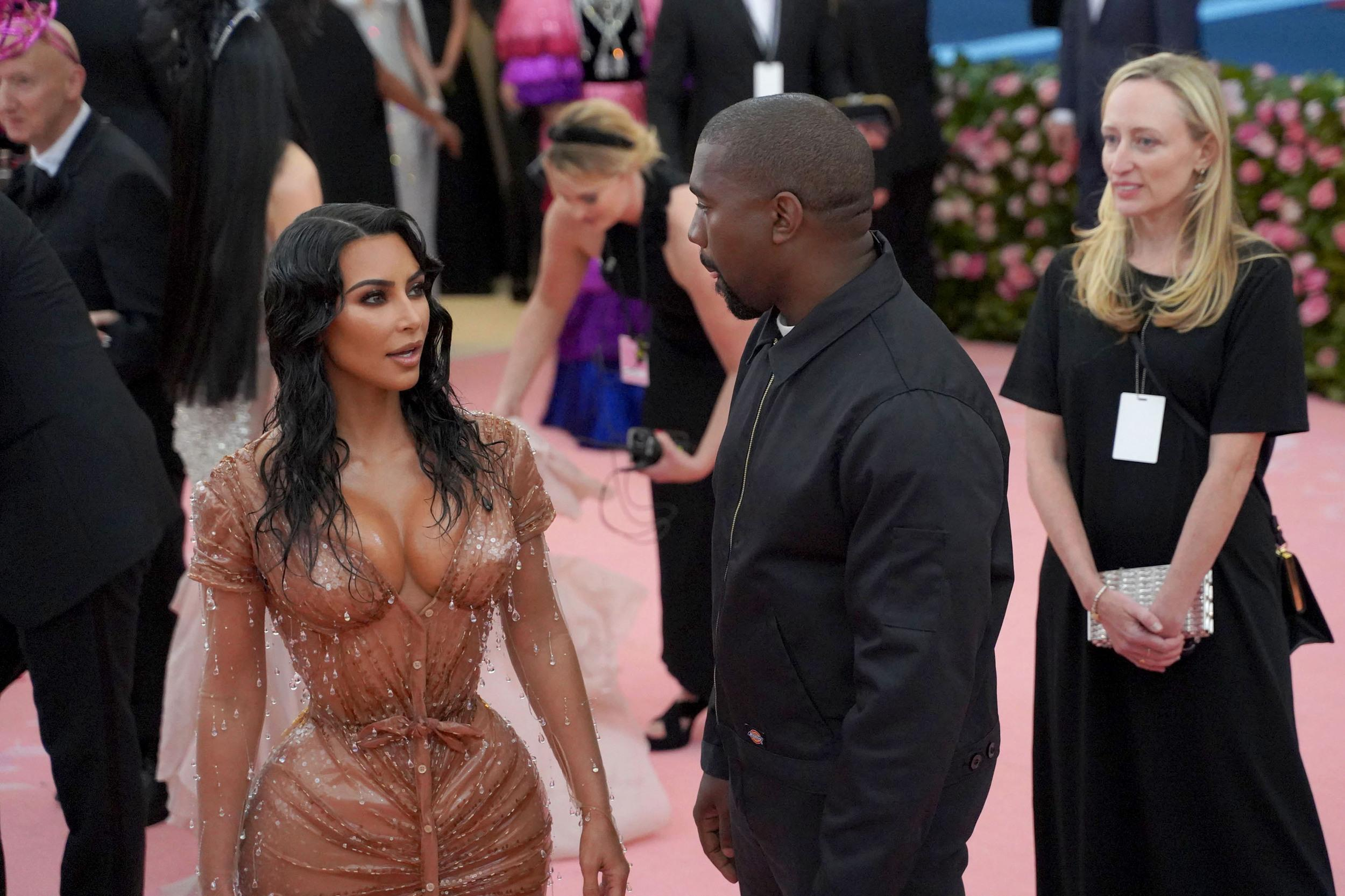 """NEW YORK, NY - MAY 6: Kim Kardashian West attends The Metropolitan Museum Of Art's 2019 Costume Institute Benefit """"Camp: Notes On Fashion"""" at Metropolitan Museum of Art on May 6, 2019 in New York City. (Photo by Sean Zanni/Patrick McMullan via Getty Images)"""