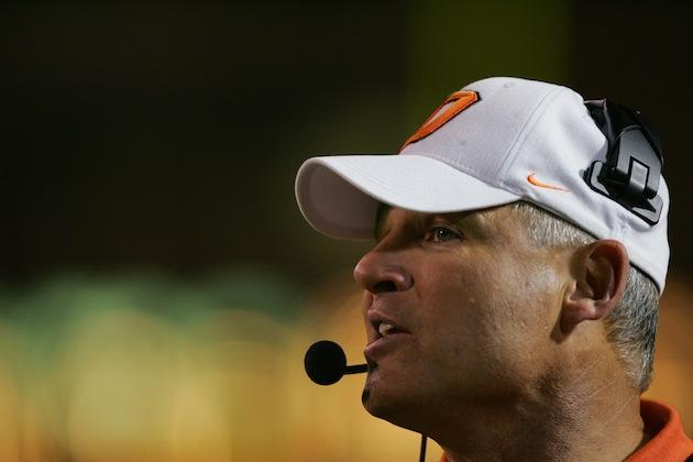 Les Miles denies SI report of cheating at Oklahoma State ...