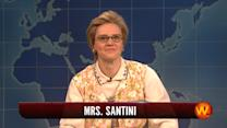 Weekend Update: Mrs. Santini
