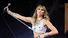 Miley Cyrus's sister reveals their 'crazy' flight to Glastonbury almost crashed twice