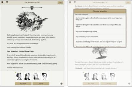 Linden Lab releases Versu, an interactive fiction system for iPad