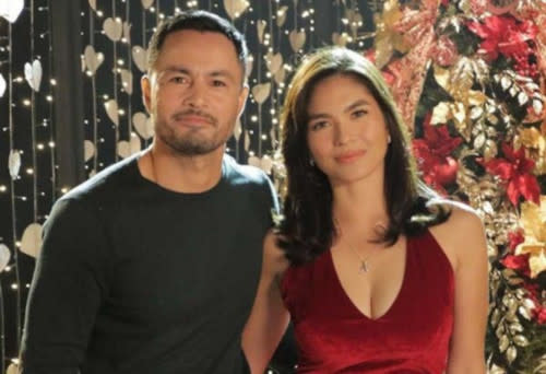 Derek Ramsay and Andrea Torres dated for a year before their breakup in 2020