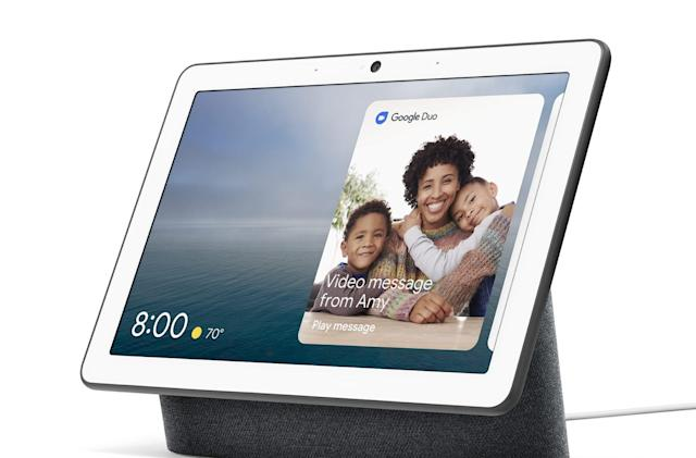 Google unveils the Nest Hub Max smart display