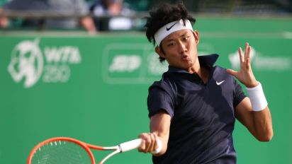 Tennis-Zhang becomes first Chinese man to qualify for Wimbledon in Open era