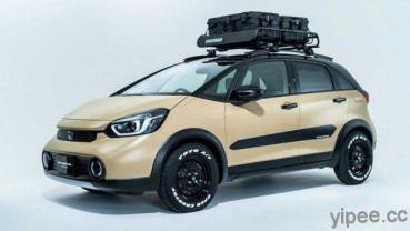 Honda 車款新玩法! N-Van 商用車改裝行動咖啡車、Crosstar 變身 Off-Road 微型越野