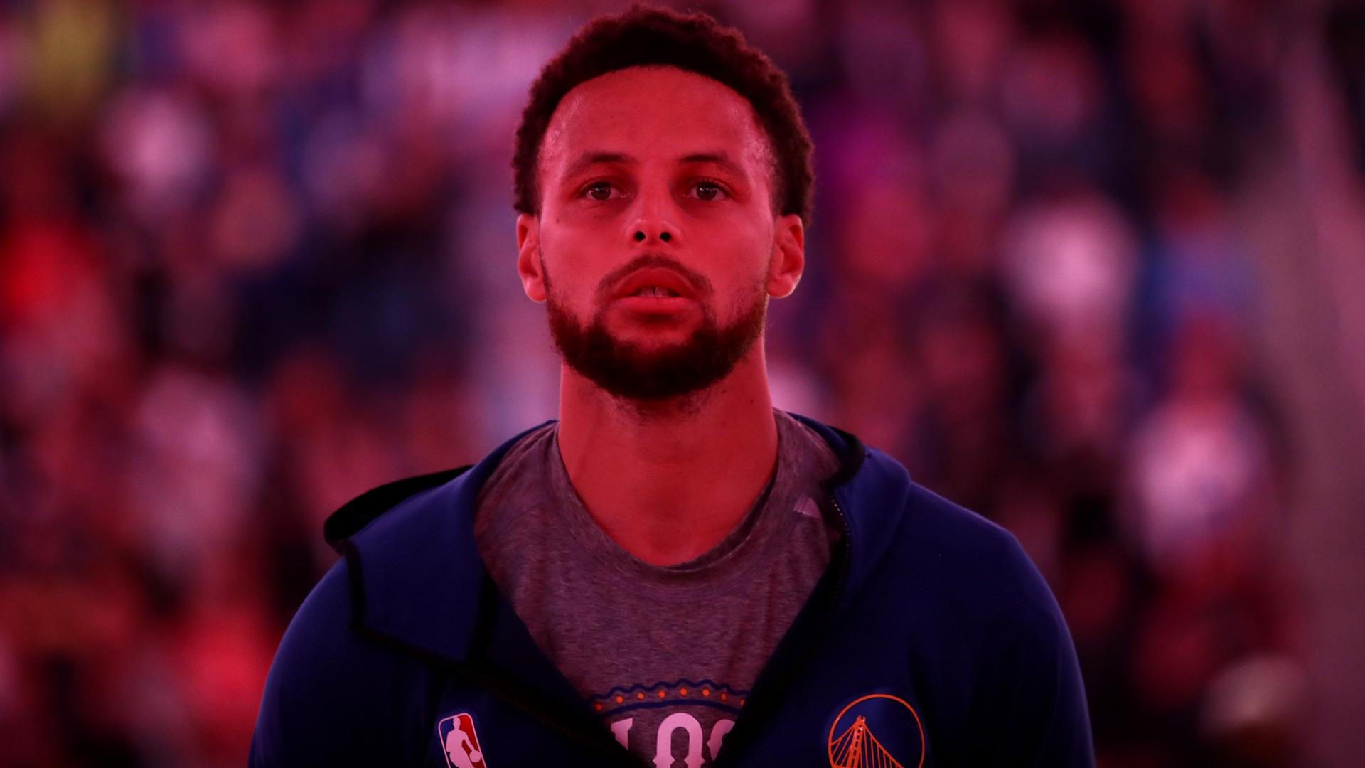 Steph Curry says NBA players upsetting President Trump doing 'right thing'