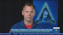 Astronaut remembers failed launch