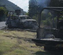 Gunmen ambush police convoy in Mexico; kill 13 and wound 9