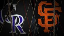 Rockies vs. Giants Highlights