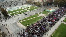 'No means no!': Chilean students condemn sexual violence