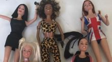 Victoria Beckham captures daughter Harper playing with Spice dolls as she learns about her mother's pop star past