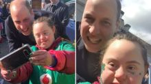 'Gent' Prince William praised for stopping to take 'sweetest' selfie with fan