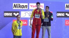 Mack Horton on swim rival Sun Yang: let's change the subject