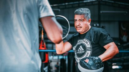 Adidas partners with trainer Robert Garcia
