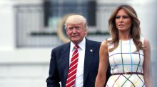 Melania Trump stands by her man - just like many high-profile wives did before her