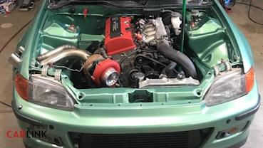 「會轉」比「會衝」還刺激!Honda Civic EG異類「直列引擎+後驅」改裝版