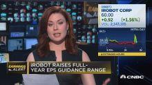 iRobot raises full-year earnings guidance range