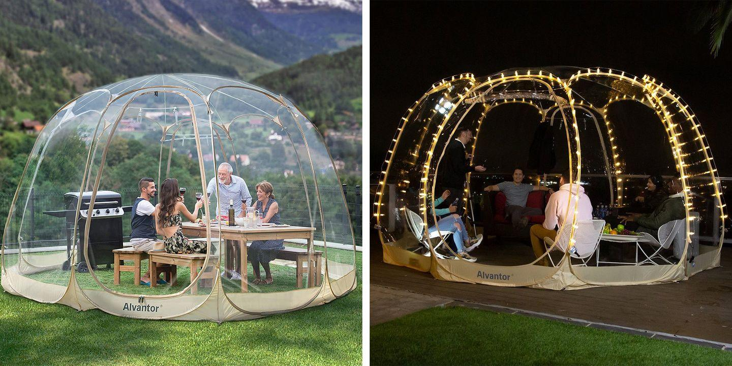 This Giant Outdoor Bubble Tent Will Turn Your Backyard Into