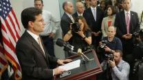 Cantor Steps Down as House Majority Leader