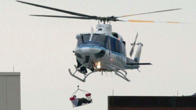 Eyes in the sky: Helicopters' role in emergency response
