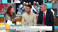 Jade Goody's mum urges women to attend cervical screenings in chaotic 'Good Morning Britain' interview