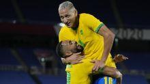 Richarlison hits hat-trick in Brazil win