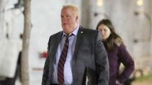 Brit actor unrecognisable in fat suit as Toronto Mayor Rob Ford