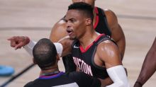 Commentary: Did Rajon Rondo's brother talk trash to Rockets? Maybe he knew something